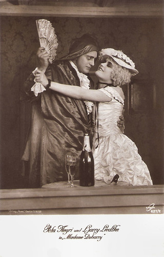 Pola Negri and Harry Liedtke in Madame DuBarry (1919)