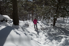 Snowshoeing at Macricostas