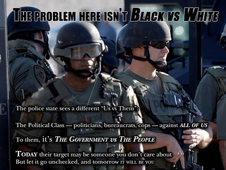 The Problem Isn't Black vs White