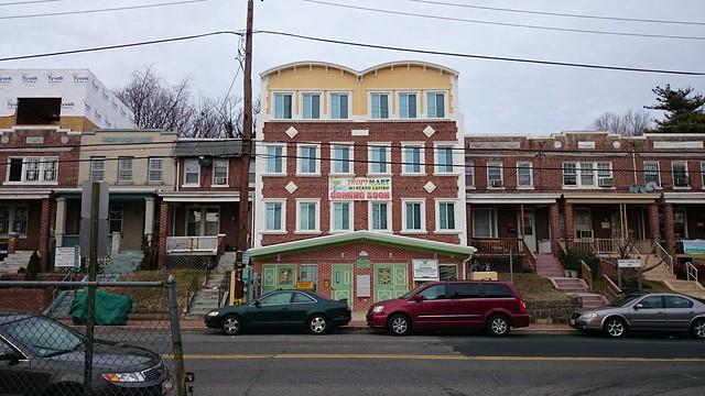 Kennedy Street commercial strip