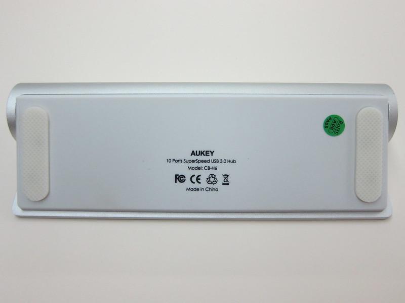 Aukey 10-Port USB 3.0 Hub - Back