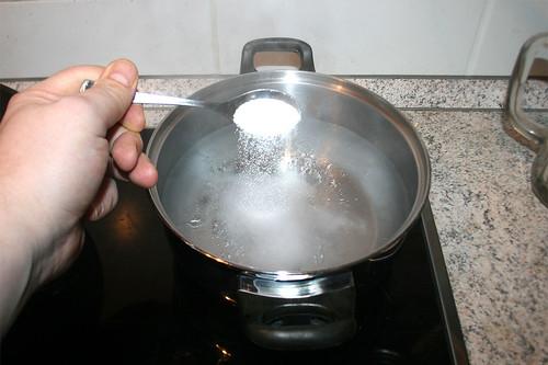 37 - Wasser salzen / Salt water
