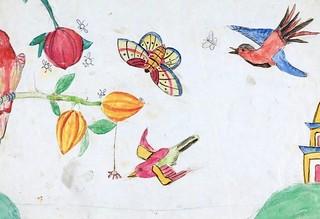Darwin's Kids Drew On His Manuscripts