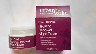 UrbanVeda Reviving Renewal Night Cream Review