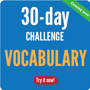 30 day Trial Vocabulary