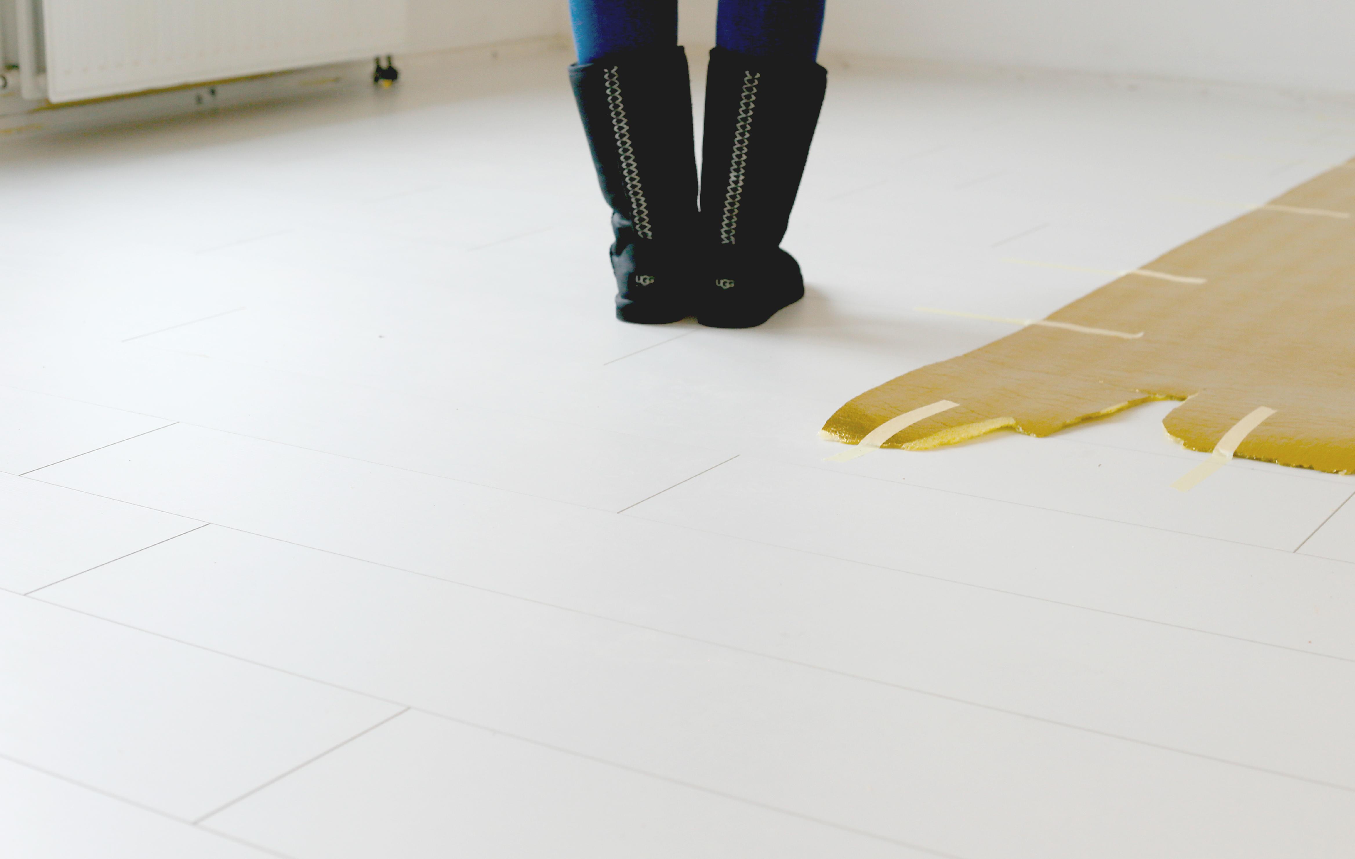 Wit vinyl zeil ≥ vinyl zeil houtmotief cm cm stoffering wit