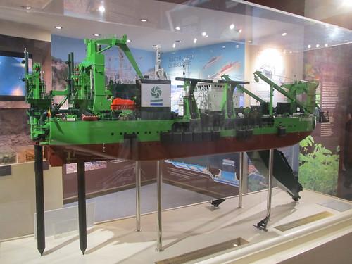 Canal de Panama: bateau de dragage proposé par une entreprise belge ! Oui, les Belges participent au projet d'extension du Canal !