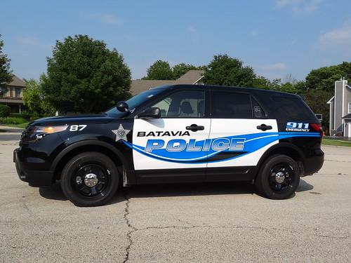 Batavia Police SUV Graphics