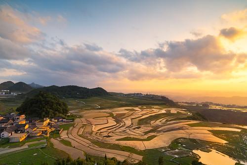 china sunset reflection zeiss landscape guizhou guiyang gnd distagon2128zf