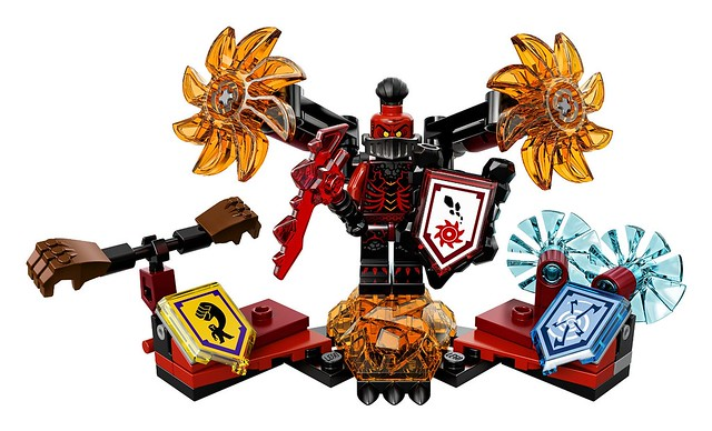 LEGO Nexo Knights 70338 - Ultimate General Magmar