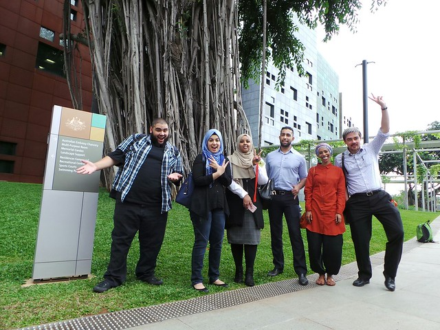 Peserta Program Pertukaran Tokoh Muslim dari Australia Kunjungi ?Indonesia