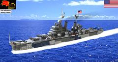 USS Baltimore Heavy Cruiser
