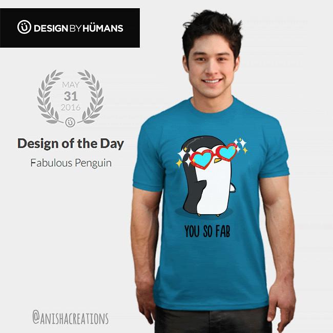 0cb19b9fb34 ... Anisha Creations Design Of the Day- Fabulous Penguin