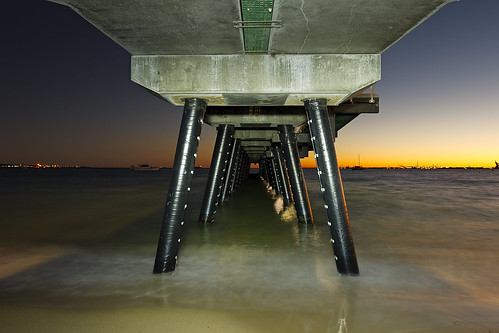 sea lightpainting beach water architecture sunrise coast nikon outdoor jetty australia location cameras shore wharf wa geography westernaustralia default lenses conditions rockingham builtenvironment vlife d700 nikond700 markmcintosh pcenikkor24mmf35ded macr237gmailcom ©markmcintosh 15000lumens 61403327236