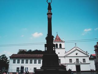 Pátio do Colégio, São Paulo, SP, Brasil.