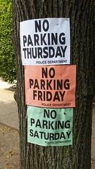No Parking No Parking No Parking