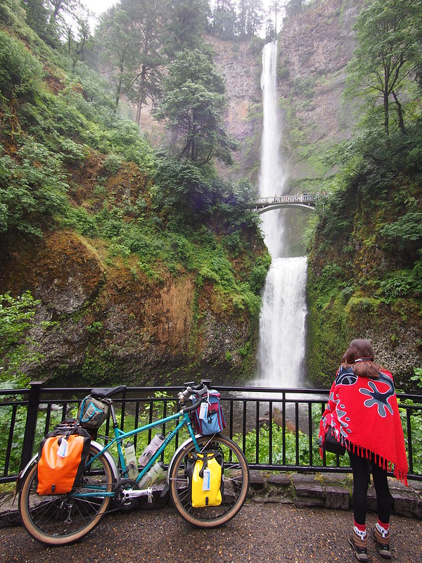 Beyond the Horizon at Multnomah Falls