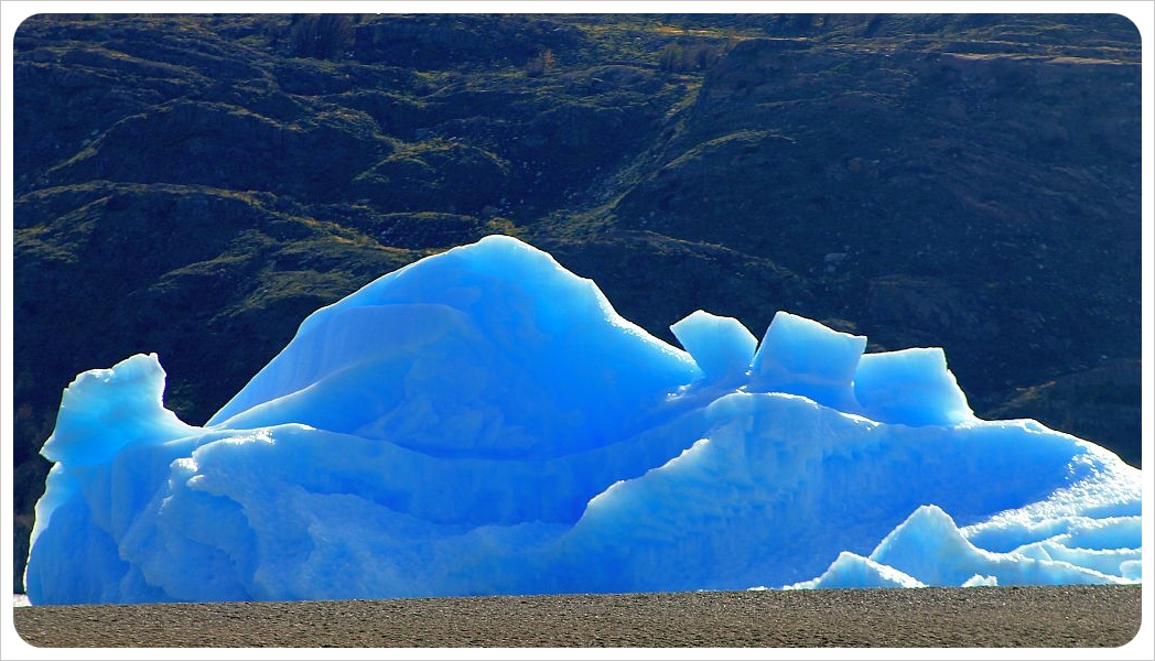 ice berg torres del paine