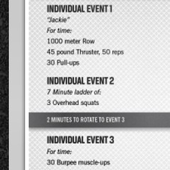 Day 1 workouts for #crossfit #regionals pretty straight forward! #workout #compete #asia #2013 #lift