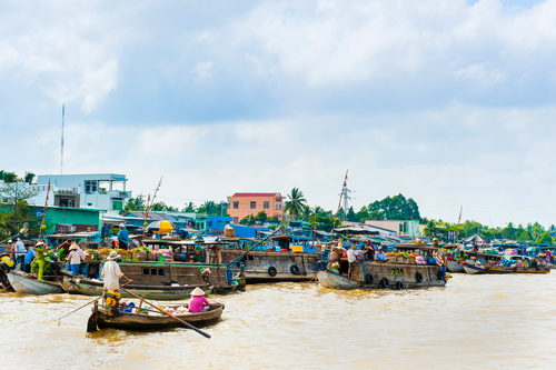 life wood trip travel people woman classic tourism water hat retail fruit standing river asian boat asia vietnamese ship tour village market south traditional poor culture floating lifestyle delta vegetable tourist east vietnam southern transportation tropical rowing oar destination vendor local agriculture selling merchant mekong conical cantho indochina occupation cairang