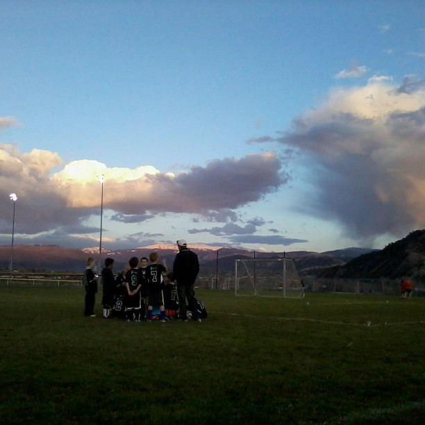It's a great night for soccer