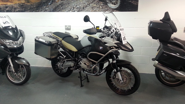 New 1200 GS Adventure