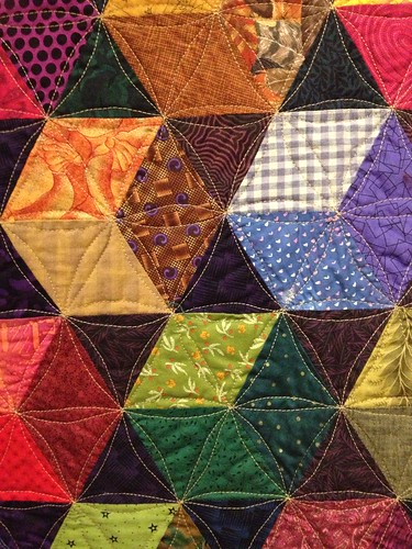 Kaffe Hexagon Quilt