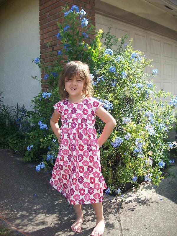 Geranium Dress #1