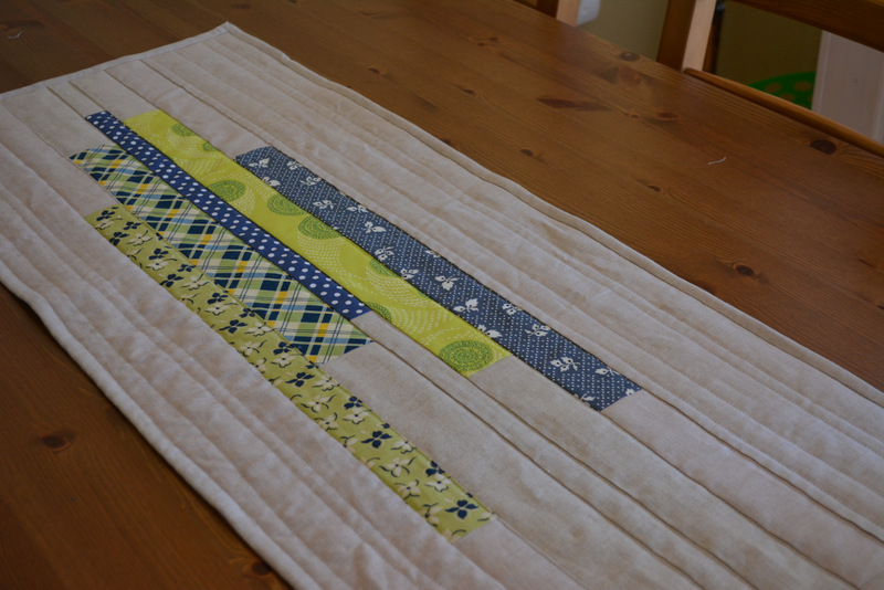 Improv Piecing Table Runner