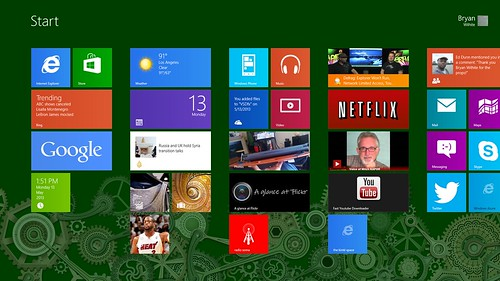 My New Windows 8 Start Menu
