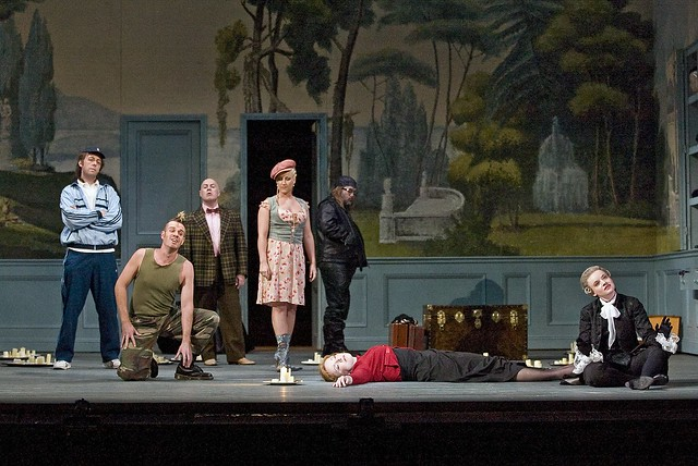 The Royal Opera in Ariadne auf Naxos © ROH / Clive Barda, 2008