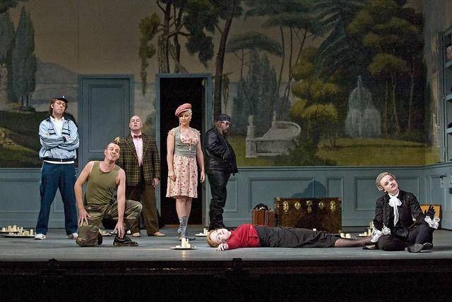 The Royal Opera in Ariadne auf Naxos © ROH / Clive Barda, 2008