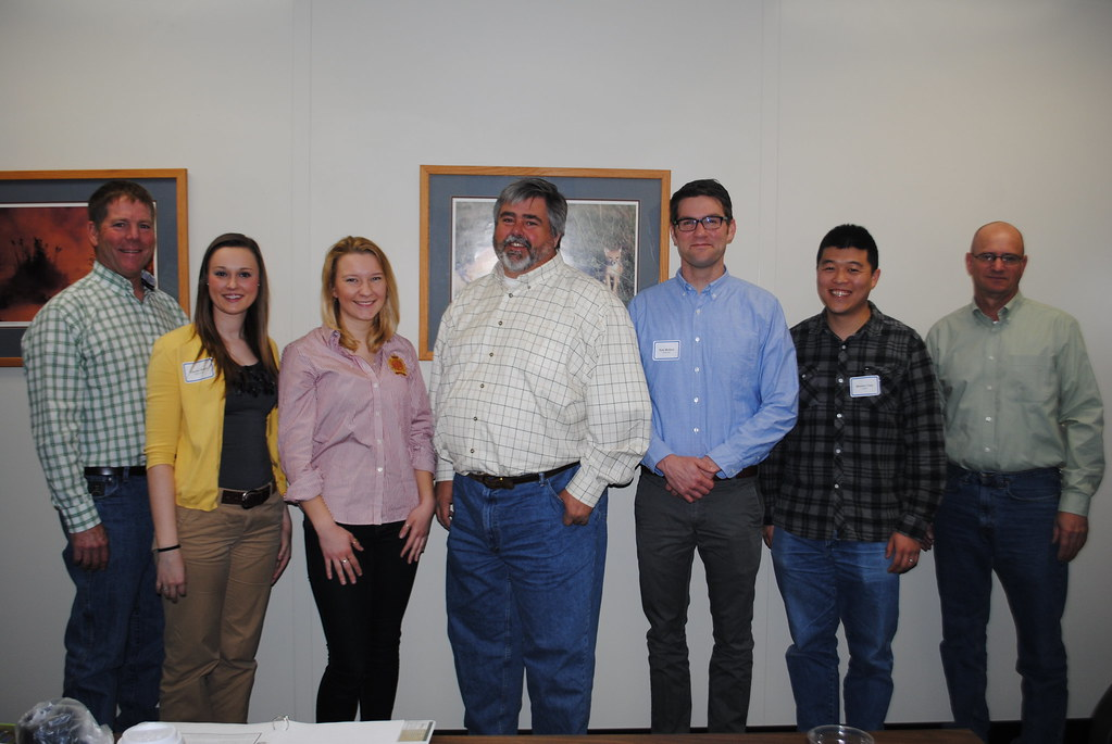 Interns with Nebraska Corn Board directors
