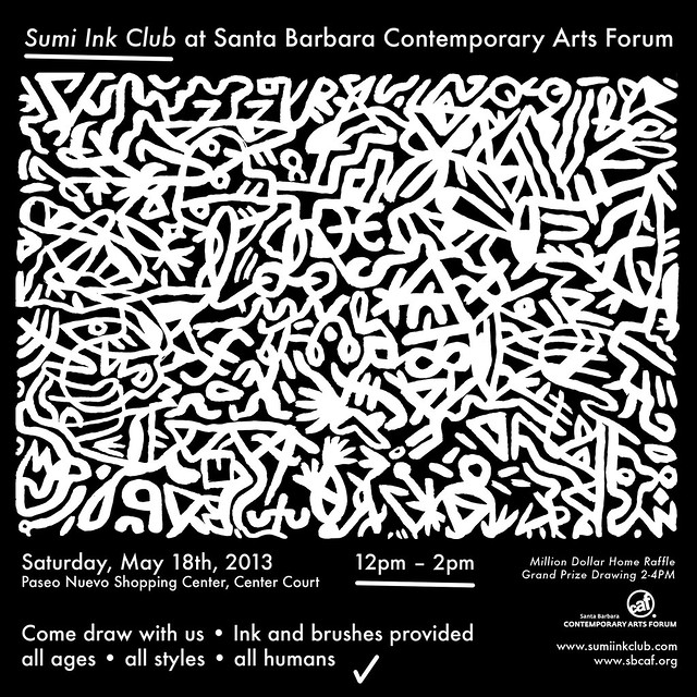 sumi ink club / santa barbara contemporary art forum MAY 18