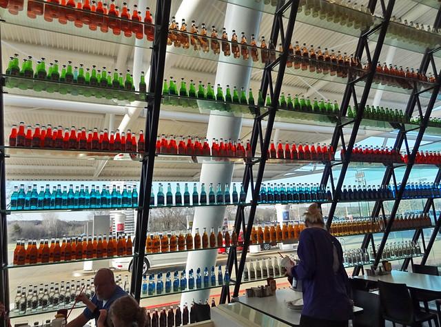 pops oklahoma soda store - bottles