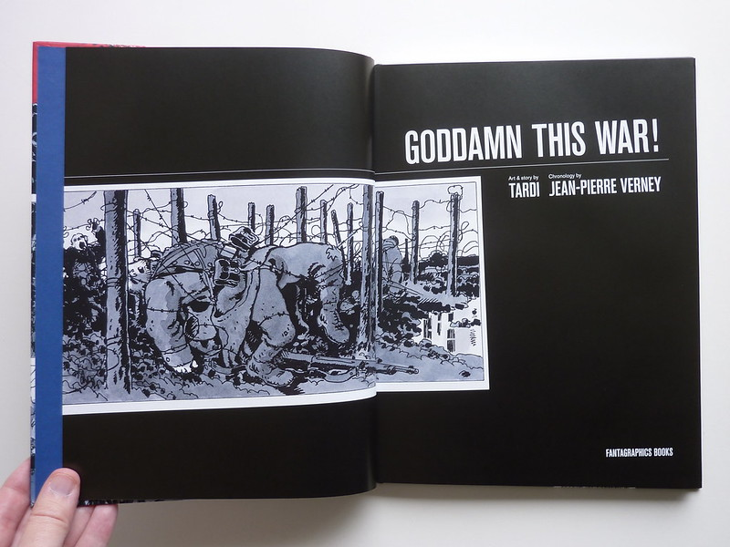 Goddamn This War! by Jacques Tardi & Jean-Pierre Verney - title pages