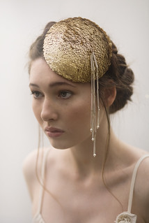 gold sequin hat