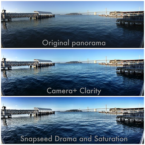 How I processed the Ferry Building waterfront panorama