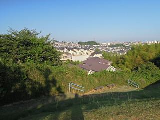 Image of 稲荷前古墳群 near Machida. yokohama tumulus ancienttomb 古墳 moundtomb 横浜市青葉区 稲荷前古墳群