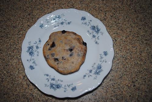 blueberry overnight pancakes