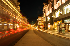 NIGHT VIEW, OXFORD CIRCUS