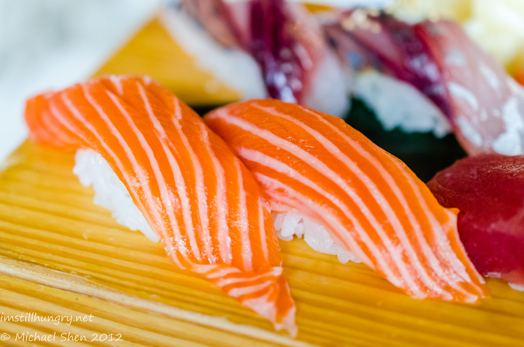 Sushi E ocean trout nigiri