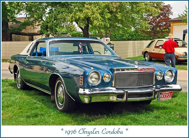 1976 Chrysler Cordoba But No Corinthian Leather