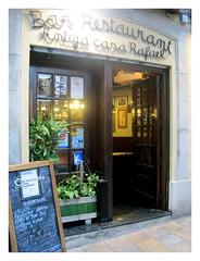 Foto entrada a Restaurante Antiga Casa Rafel