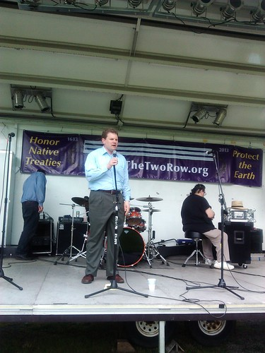 US Rep Dan Maffei July 2 Onondaga Lake by Syracuse Peace Council