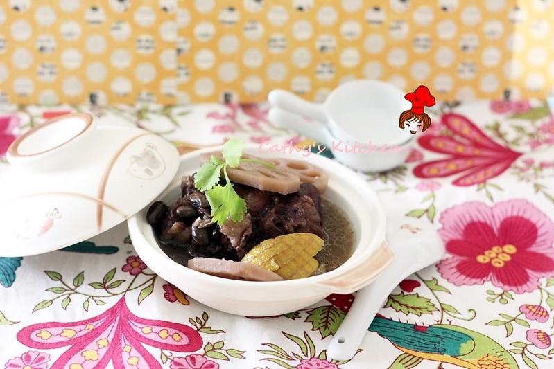 濃郁飄橙香 - 黑豆清燉牛尾湯 Black Bean Oxtail Stew  2