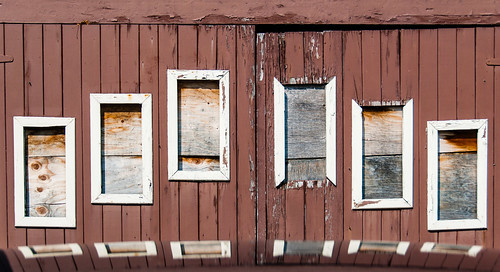 Wood picture windows - #188/365 by PJMixer