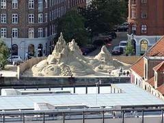 Sand sculpture, Havnepromenade