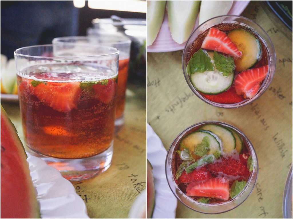 Pimmsbarbecue