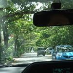Driving around Okinawa